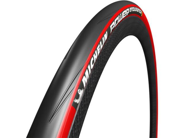 "Michelin Power Endurance Folding Tyre 28"" red"